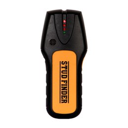 Handheld Detector De Metais De Madeira Stud Localizador Portátil Sensor de Fio de Cabo Eletrônico Scanner de Alta Qualidade na caixa de varejo de Fornecedores de scanner de sonda