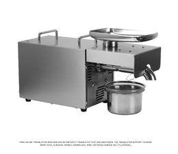 Nozes oleaginosas on-line-NOVA Máquina de Prensa De Azeite Automática Máquina De Pressão De Óleo Sementes Nuts Presser All Stainless Steel 110/220 V