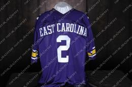 014155aa3 Cheap custom jeff blake east carolina pirates #2 college football jersey  Customized Any name number Stitched Jersey XS-5XL