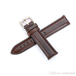 dw strap Desconto Moda substituição pulseira de couro relógio DW homens e mulheres pulseira de couro fivela acessórios para 20 milímetros maçã