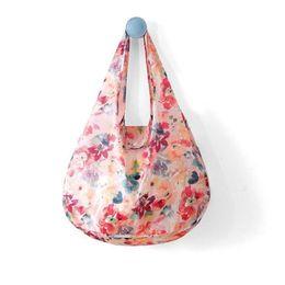 Модные продуктовые сумки онлайн-Fashion Eco Storage Shopping Bag with Hasp Women's Handbags Waterproof Thick Reusable Grocery Shopping Bag Foldable Tote Bags