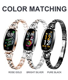 H8 H8S Bracelet Intelligent Femmes Activité Fitness Tracker Moniteur de Fréquence Cardiaque Tension Artérielle Étanche Bracelet Montre smartwatch fitbit Xiaomi ? partir de fabricateur