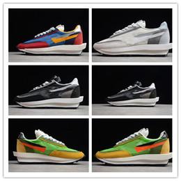 2019 nk sport 2019 Nuovo Arrive Fashion Show congiunto Sacai x Nk LVD Waffle Daybreak Scarpe da corsa di alta qualità Mens scarpe da ginnastica classiche sportive Sneakers taglia 40-45 sconti nk sport