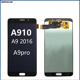 "Tela de toque a9 on-line-ORIWHIZ 6.0"" para Samsung Galaxy A9100 LCD A9 Pro A9 2016 A910F display Touch Screen Assembly digitador"