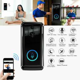 Ir fernbedienung online-Wireless Smart WiFi Türklingel IR-Telefon Remote Türklingel Überwachungskamera Intercom