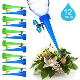 kits de espiga Desconto Fontes do jardim Planta Waterer Auto Rega Spikes Sistema de Rega De Irrigação Por Gotejamento Kits de Dispositivo De Rega De Água Ajustável