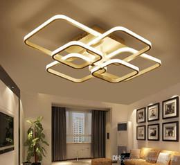 Plafoniere quadrate degli anelli di Circel per la camera da letto principale AC85-265V moderna del soffitto della camera da letto degli apparecchi plafonnier da anello in acciaio inox fornitori