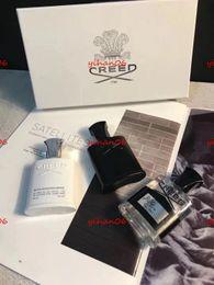 Halloween vente chaude Top Quality 30ml * 3 Creed Parfum de Cologne pour Hommes Avec Longue Durée Haute Fragrance Haute Qualité Set Box Gif achats libres ? partir de fabricateur