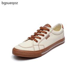 Новые корейские мужчины повседневная обувь онлайн-Men's casual shoes 2019 summer new canvas shoes Korean men's classic fashion breathable flat large size 189