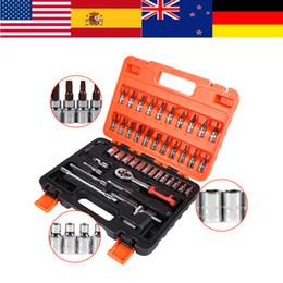WALFRONT 46pcs / box kit chiavi a bussola 1/4 pollici barra di prolunga chiave esagonale chiavi in acciaio al cromo-vanadio da dispenser per bottiglie di alcol fornitori