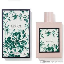 Argentina Perfume para mujer Bloom Nuevo perfume Flor y perfume de madera Spray de agua de alta calidad 100 ml EDP Envío gratis Envío rápido cheap sprays for flowers Suministro