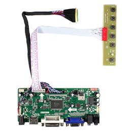 Controlador vga lcd online-Hdmi Vga Dvi Audio Lcd Controller Board para 15.6 pulgadas B156Hw01 Lp156Wf1 1920X1080 pantalla LCD