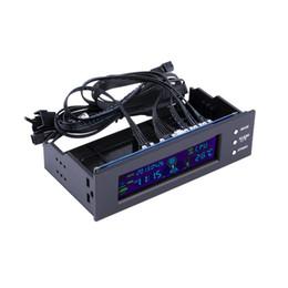 Deutschland LCD-Panel CPU-Lüfter Drehzahlregler Temperaturanzeige 5,25 Zoll PC-Lüfter Drehzahlregler cheap temperature fan Versorgung