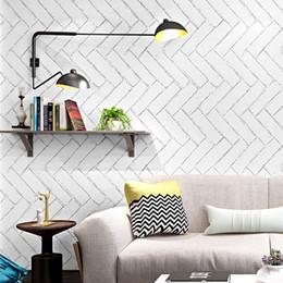 3d rolo de papel de parede de tijolos brancos do vintage papel de parede paredes nórdico papel de parede lavável à prova d 'água cozinha para salão de cabeleireiro ez208 de