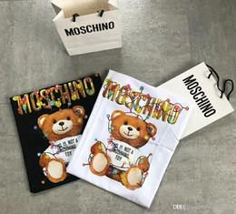 Ursinhos de peluche on-line-2019 verão T shirt feminino Tops Holiday Lights Teddy bear Lazer t-shirt Ocasional de Manga Curta O Pescoço tshirts