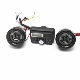 haut-parleur du lecteur multimédia Promotion Moteur vélo anti-vol Heanbar lecteur MP3 haut-parleur étanche avec écran de 3 pouces moto lecteur multimédia haut-parleur