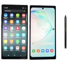 smartphone dhl android di spedizione Sconti NON 10+ Goophone NON 10 Plus 6.8 pollici Goophone Face ID WCDMA 3G Quad Core Ram 1GB ROM 16GB Android 9.0 fotocamera 8.0MP Visualizza 5g 512 GB Ram 12GB