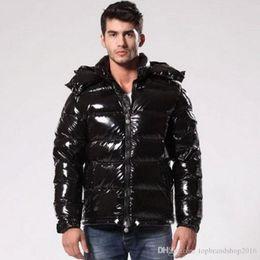 301c09baffaa Mens Designer Jackets Winter Hoodies Duck Down Luxury Jacket Coat Thicken  Warm Black Zipper Pockets MAYA Fashion Casual Brand Doudoune Homme