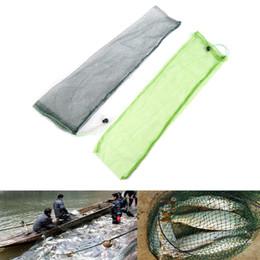 Sac 1pc simple poisson Tackle Pliable Outils de pêche Pêche Piège Net pliant Mesh Nylon Cast Accessoires Couleur Randomly ? partir de fabricateur