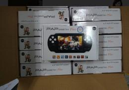 Mp4 jogo portátil on-line-PAP Gameta II Consolas de jogos portáteis de 64 bits Retro Video Games Players construído em 16GB Suporte TV Out MP3 MP4 MP5 Camera