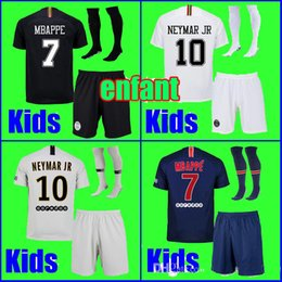86438ec0e YOUTH Maillot de foot KIDS soccer jersey 2018 2019 Jersey 18 19 boys child  kits socks uniform psg sets supplier youth soccer uniforms sets