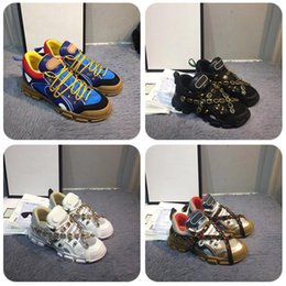 Designer de moda calçados casuais sapatilha dos homens do couro dos homens sapatos casuais Low Top Lace Up sapatas lisas ocasionais com caixa de