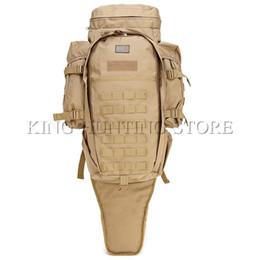 Pacotes de armas on-line-2017 Novos Homens Militar Tactical Pack Mochila Ao Ar Livre Caça Rifle Carry Tactical Bag Gun Proteção Caso Mochilas # 108959