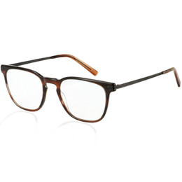 4396dbb8686 Logorela Prescription Eyeglasses Frames For Men and Women Retro Round Wood  Grain Optical Glasses Frame with Clear Lens