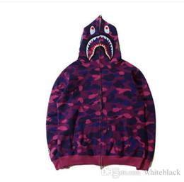 Diseñado sudaderas rosa online-Diseño al por mayor Pink Hoodies Men Women '; S Zipper Hooded Hoodies Adolescente Otoño Moda Casual Sudadera Chaqueta