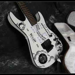 Chitarra lunare online-2019 Nuovo arrivo chitarra elettrica ESPS 22F FR ponte di trasferimento dell'acqua Top Moon Inlay Buon lavoro