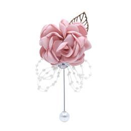 Ручной Корсаж Для Жениха Свадебные Цветы Розовая Роза Цветок Лозы Для Свадебных Мероприятий Поставки Украшения Дома от