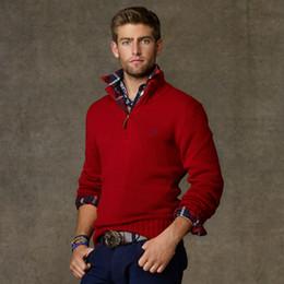 Бесплатная доставка 2020 новый высокое качество миля wile марка поло мужская твист свитер вязать хлопок свитер джемпер свитер свитер Маленькая лошадь игра cy от