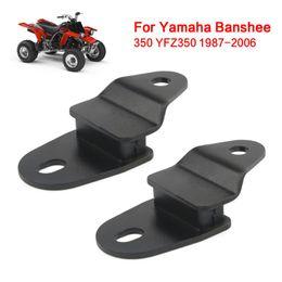Fits:YAMAHA BANSHEE 350 YFZ350 87-06 Exhaust Muffler Pipe Stay Mount Hanger 2pcs