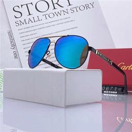 óculos polarizados uv aviador Desconto Qualidade do vintage condução óculos de sol elipse óculos aviadores homens esportes designer de luxo dos homens óculos de sol uv óculos polarizados com caixa-wx