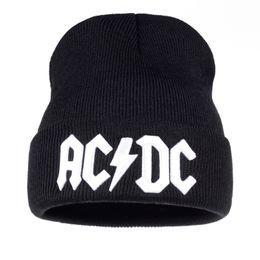 TUNICA Erkekler Kadınlar Kış Sıcak Beanie Hat Rock ACDC AC / DC Rock Band Yetişkin Men Kadınlar İçin Sıcak Kış Yumuşak Örme kasketleri Şapka Cap nereden