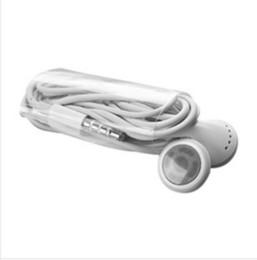 3gs mic Rebajas 300 unids / lote estéreo de 3.5 mm jack auriculares auriculares con micrófono para iphone4 iPhone 6 6s 5 5S 4 4S 3GS ipad 2 3 auriculares de buena calidad