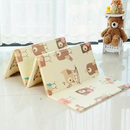 capas de laranja Desconto 150X200 CM Infantil Baby Dobrável Esteira do Jogo Espessamento Em Casa Do Bebê Sala de Emenda 1 CM Espessura Criança Escalada Mat