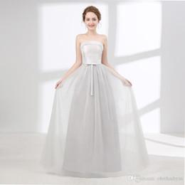 Deutschland Nette Brautjungfernkleider Schlauch Silk Satin Satin Dünnes Erwachsenes Kleid Abschlussball Kleid Größe Justierbar Billig Versorgung