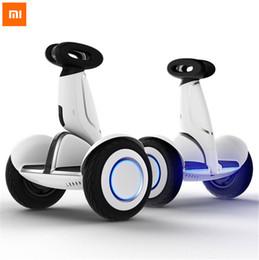 Bluetooth à scooter électrique à équilibrage automatique en Ligne-XIAOMI Ninebot Plus N4M340 châssis en alliage de magnésium 35 km un bouton automatique suivre 11 pouces électrique bluetooth auto équilibrage Scooter