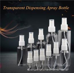 lg he4 baterias Desconto Frasco do pulverizador distribuição transparente garrafa pequena de pulverização 80-250ml Belas spray garrafa Cosméticos Desinfecção sanitizerl mão fácil de transportar