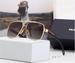2020 óculos escuros para os homens Luxo 0805square óculos de sol dos homens designer verão tons preto do vintage óculos de sol de grandes dimensões para as mulheres do sexo masculino óculos de sol óculos escuros para os homens barato