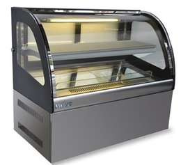 Canada Armoire à gâteaux vitrine réfrigérée arc après l'ouverture porte dessert aux fruits West Point mousse cuit armoire de conservation des aliments Offre