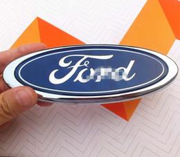 emblema da grade da frente Desconto Ford Front Grille Tailgate Emblema, oval 6