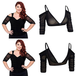c59a41aa566b Amazing Arm Sleeve Shapewear Sexy Backless Crop Tops Slimming Control Arm  Shapewear Shaper Fashion Women Plus Size Shapers  40
