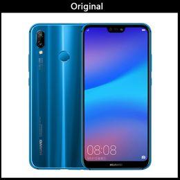 """2019 smartphone dhl android di spedizione Huawei originale Nova P20 3e Lite 4G LTE del telefono cellulare Android 8.0 5.85"""" 2280X1080 4GB di RAM 128 GB ROM Face ID 24.0MP FM"""