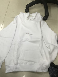 Luxus-designer-logo online-2019 Marke Mode Luxus Mens Designer Pullover SLP Saint Hoodies Logo Box Sweatshirts Frauen Pullover Fleece HipHop Sportbekleidung Hoodie 666