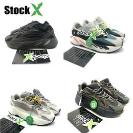 Baskets d'équilibre en Ligne-Adidas Yeezy 700 boost off white air jordan new balance vapormax nmd designer shoes men slipper shoes red  West Vanta Analogique Vague Coureur Hommes Femmes Formateurs Baskets De