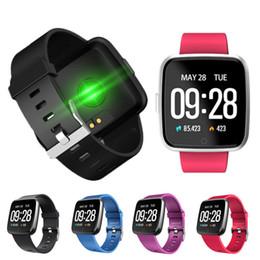 2019 deporte gps reloj inteligente Y7 Bluetooth banda de reloj inteligente 3 ID115 Monitor de sueño de presión arterial del ritmo cardíaco Pantalla a color impermeable Smartwatch Sport band para IOS Android rebajas deporte gps reloj inteligente