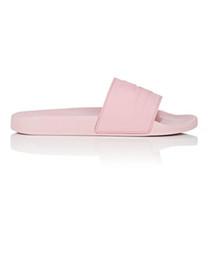 2019 pantoufles de logo mens womens vintage logo sandales en caoutchouc pour chaussures plates faciles à porter des pantoufles tongs causales pour la plage promotion pantoufles de logo