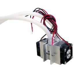 Thermoelectric cooler online-DIY-Kits Thermoelektrische Peltier-Kühlung Kühlsystem Wasserkühlung + Lüfter + 2 Stück TEC1-12706